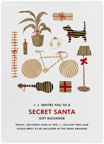 Assortment of Presents - Black - Paperless Post -