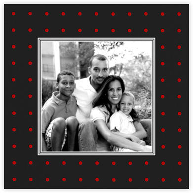 Bazille Dots (Square) - Red - Paperless Post -