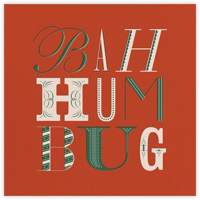 Bah Hum Bug - Paperless Post -
