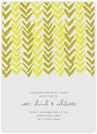 Ink Brush Arrows - Yellow - Linda and Harriett -