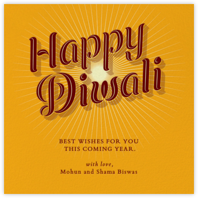 Happy Diwali - light - Paperless Post - Diwali Cards