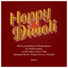 Diwali Invitations Online At Paperless Post
