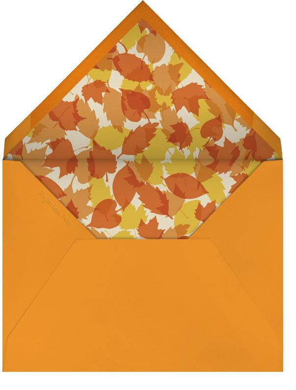 Giving Thanks Gravy - Paperless Post - Thanksgiving - envelope back