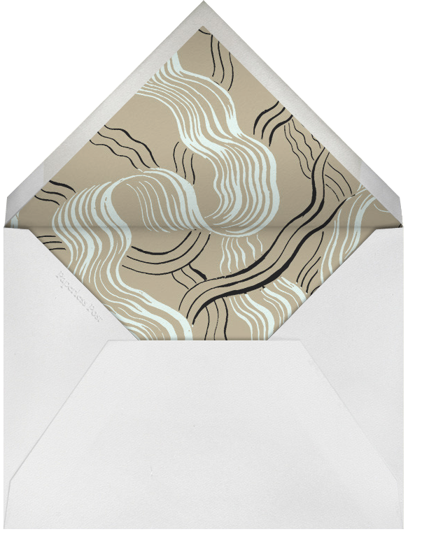 Genius (Stationery) - Kelly Wearstler - Personal Stationery - envelope back