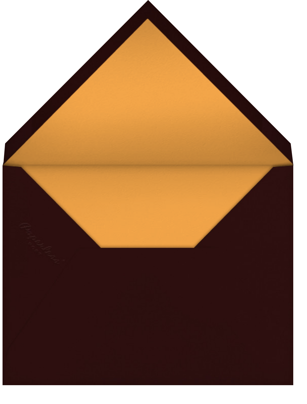 Giving Thanks Chocolate - Paperless Post - Thank you - envelope back