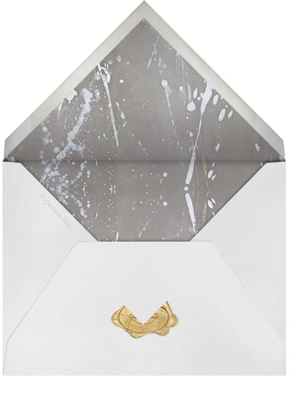 Graffito - Coral - Kelly Wearstler - Save the date - envelope back