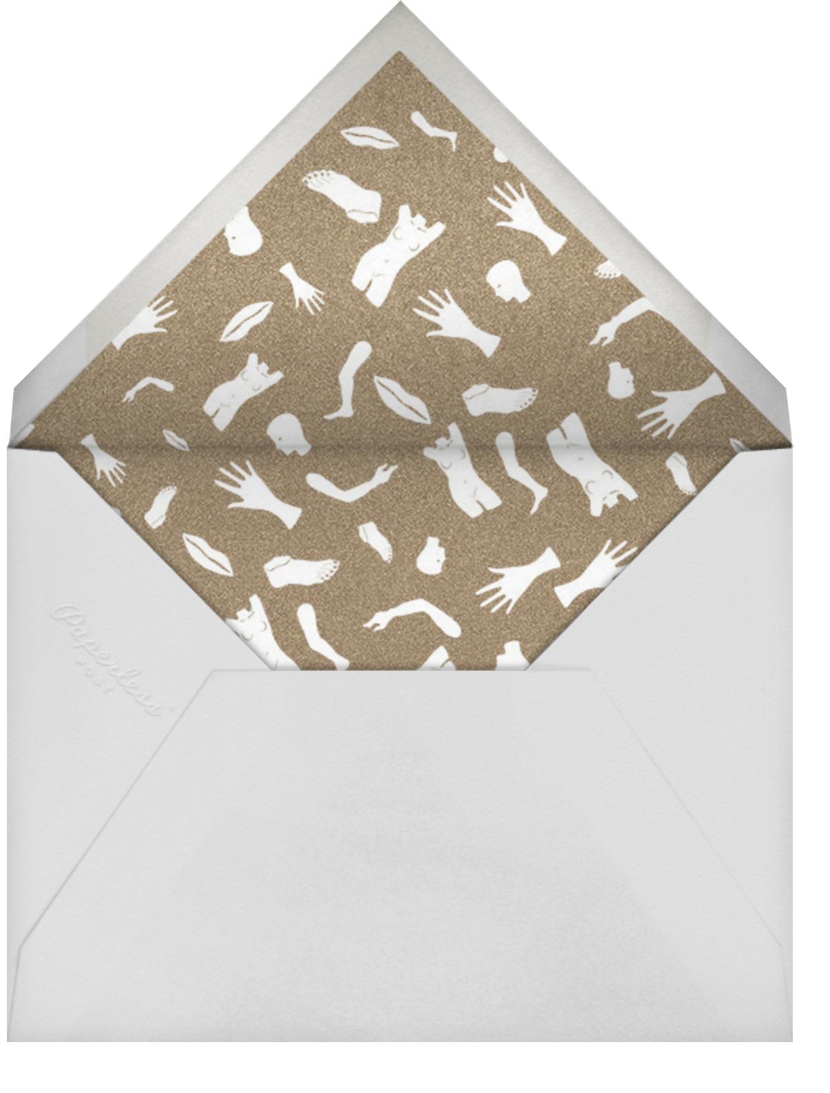 Sugar - Kelly Wearstler - Cocktail party - envelope back