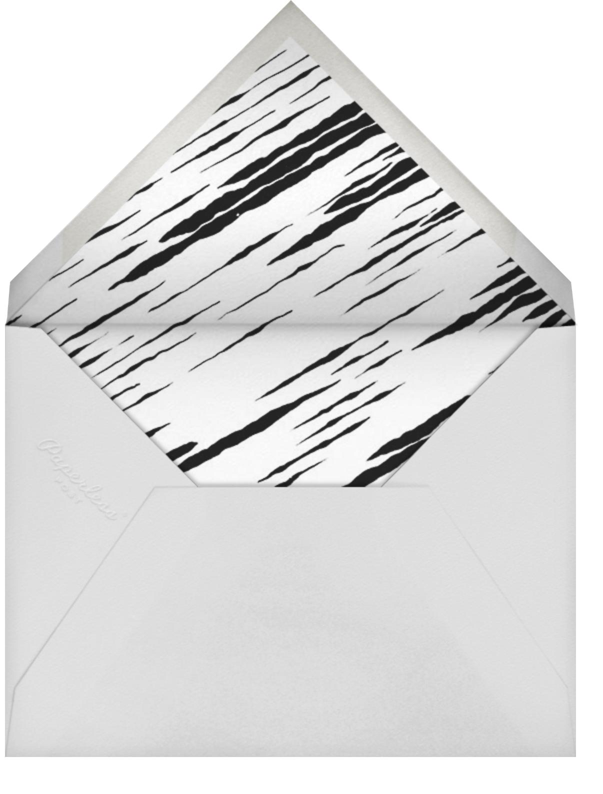 Feline - Metallic - Kelly Wearstler - Cocktail party - envelope back