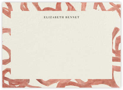 Graffito - Horizontal - Kelly Wearstler - Personalized Stationery