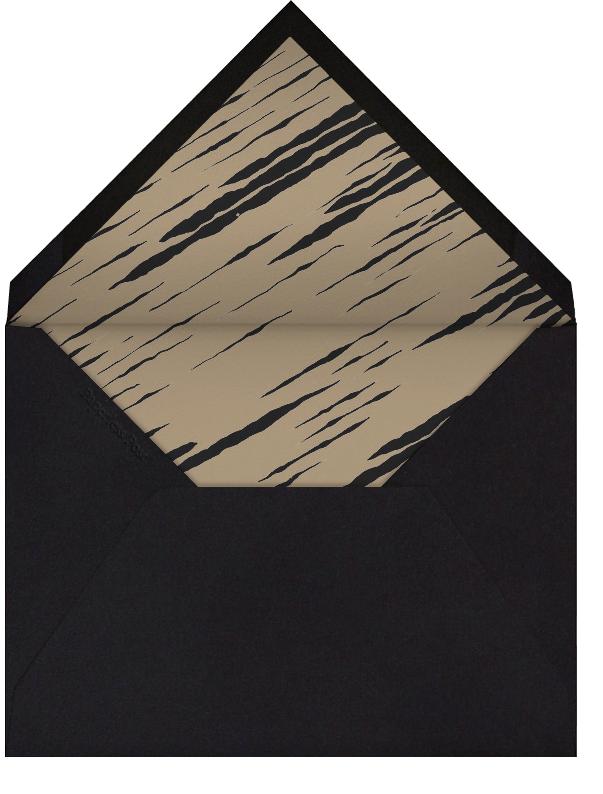 Feline - Horizontal - Kelly Wearstler - Personalized stationery - envelope back