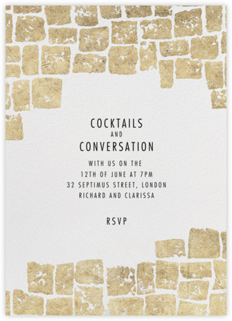 Gilded - Kelly Wearstler - Kelly Wearstler Invitations