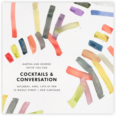 Sonnet - Multicolored - Kelly Wearstler - Kelly Wearstler Invitations