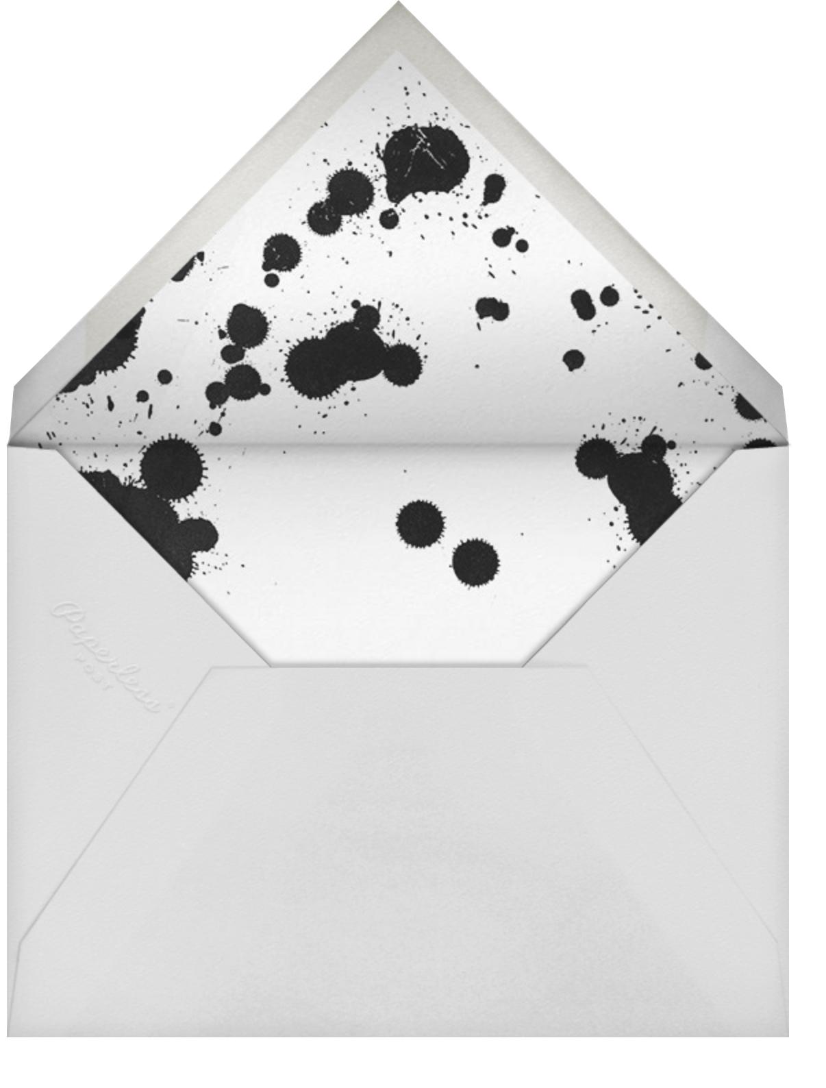 Schizzata - Black/White - Kelly Wearstler - Cocktail party - envelope back