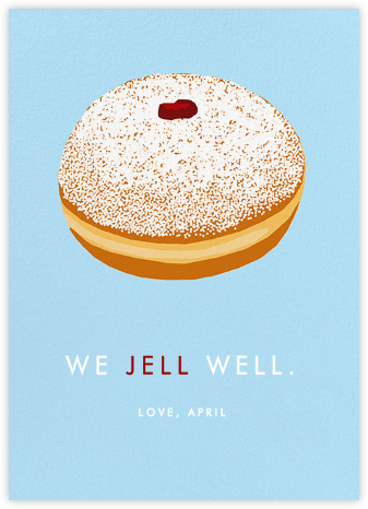 Jelly Donut - Hannah Berman - Just because cards