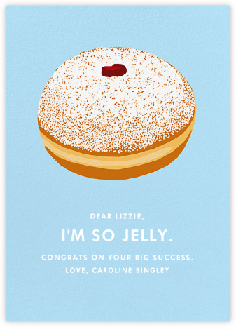 Jelly Donut - Hannah Berman - Congratulations cards