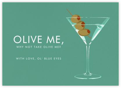 Dirty Martini | horizontal