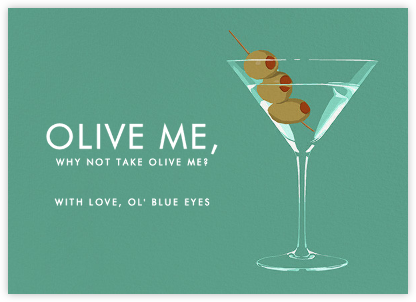 Dirty Martini - Hannah Berman - Valentine's day cards