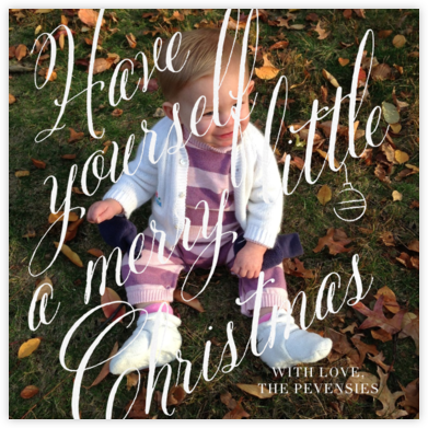 Merry Little Photo - Paperless Post -