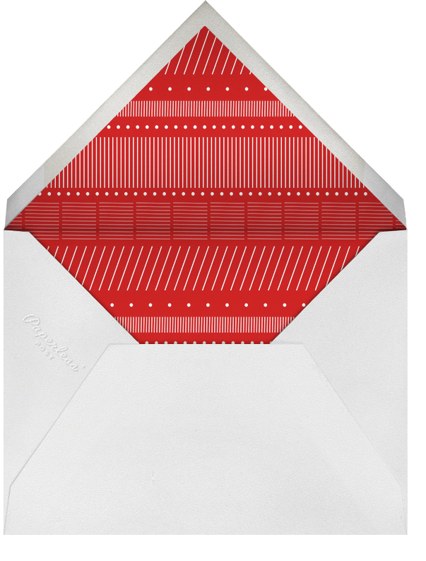 Holiday Triptych - Paperless Post - Holiday cards - envelope back