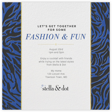 Stella and Dot - Tiger - Paperless Post