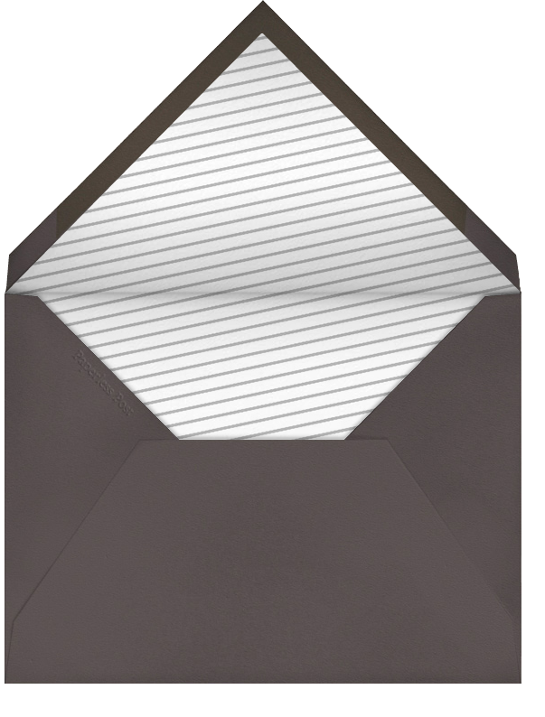 Gamma Ray - Wheat - Paperless Post - New Year's Eve - envelope back