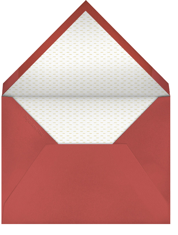 Frosty Doodle - Paperless Post - Holiday cards - envelope back