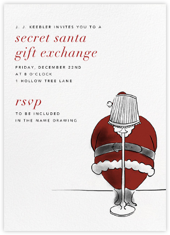 Secret Santa - Paperless Post - Invitations