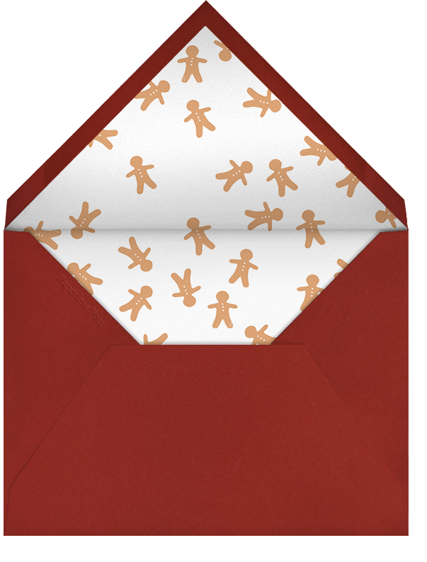 Cookie Dough - Paperless Post - Christmas party - envelope back