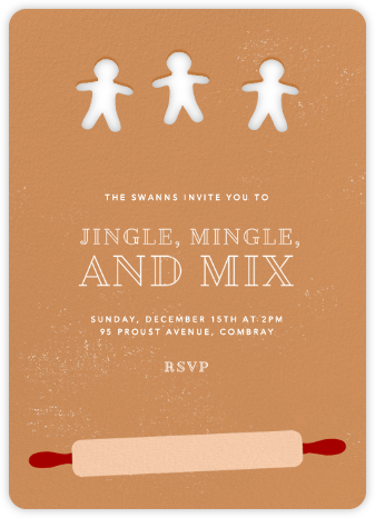 Cookie Dough - Paperless Post - Holiday invitations