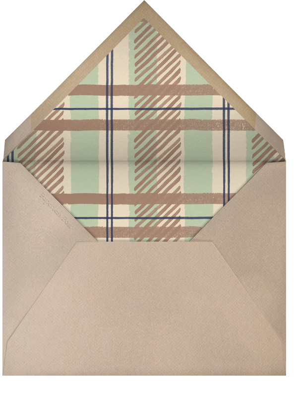 Thanksgiving Place Setting - Paperless Post - Thanksgiving - envelope back