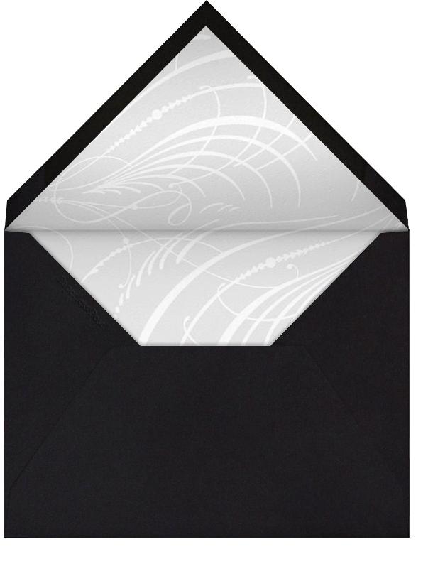 Wishing You A Happy Birthday - Black - Paperless Post - Birthday - envelope back