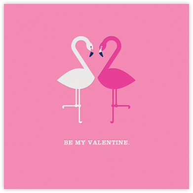 Flamingo Love ll - Jonathan Adler - Valentine's day cards