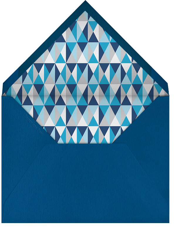 Trappings of a Gent - Jonathan Adler - Birthday - envelope back
