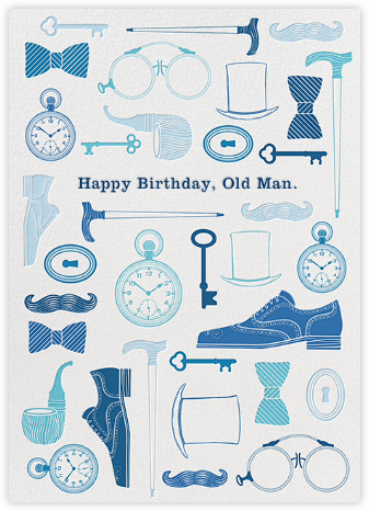 Trappings of a Gent - Jonathan Adler - Birthday cards