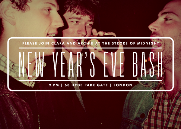 New Year's Eve Bash - Photo - Paperless Post - New Year's Eve