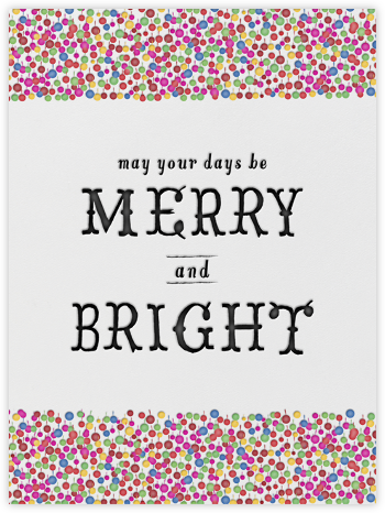 Merry and Bright - Mr. Boddington's Studio - Company holiday cards
