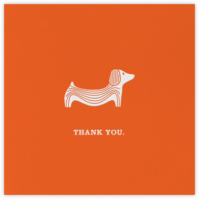 Doxie - Jonathan Adler - Greeting cards