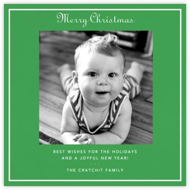 Merry Christmas - Emerald - Paperless Post -
