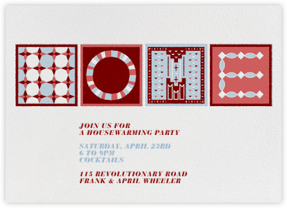 Home On The Range - warmth - Paperless Post - Online Party Invitations