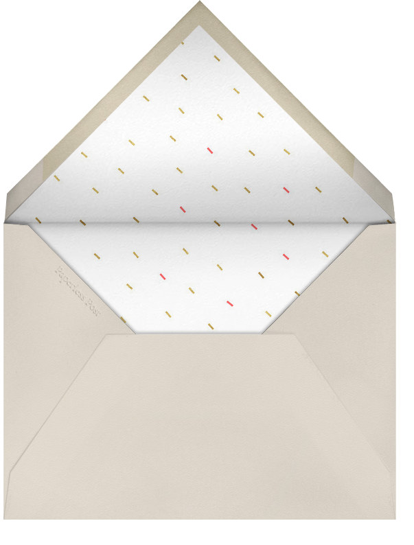 Party Animals - Gold Coral - Paperless Post - New Year's Eve - envelope back