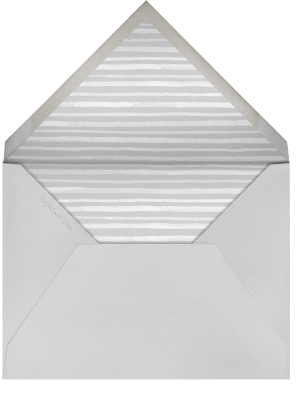 Pencil Pinstripe - Silver - Paperless Post - null - envelope back