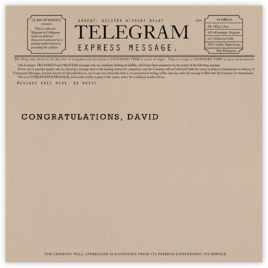 Telegram - Congratulations - Paperless Post