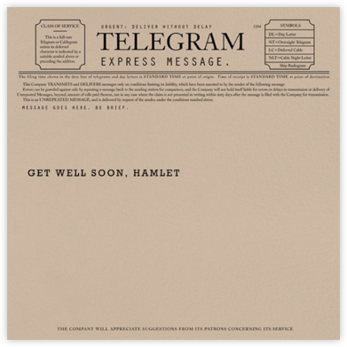 Telegram - Get Well - Paperless Post - Get well cards