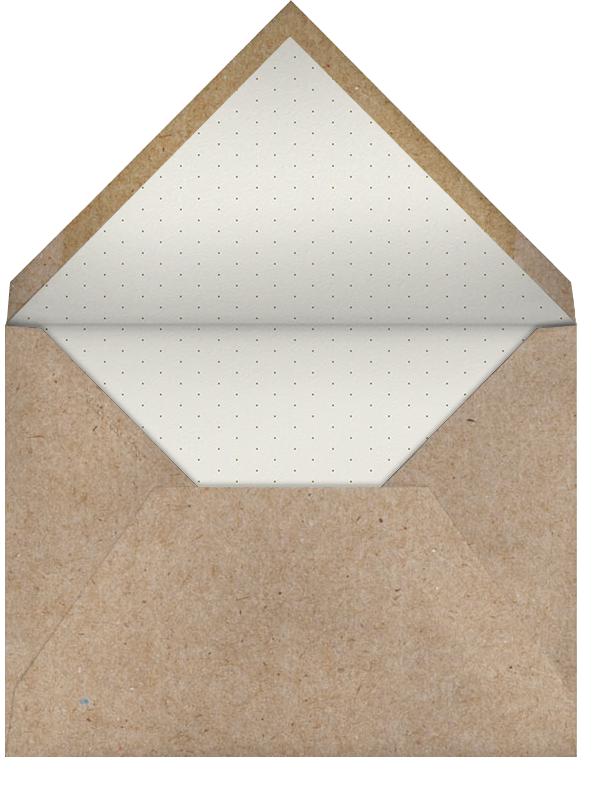 Sash Window - Green - Paperless Post - Envelope