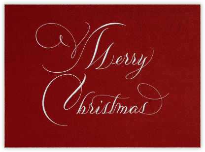 Merry Christmas - Bernard Maisner - Christmas Cards