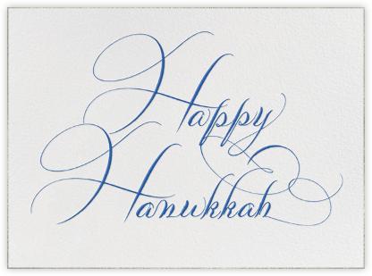 Happy Hannukah - Bernard Maisner - Hanukkah cards