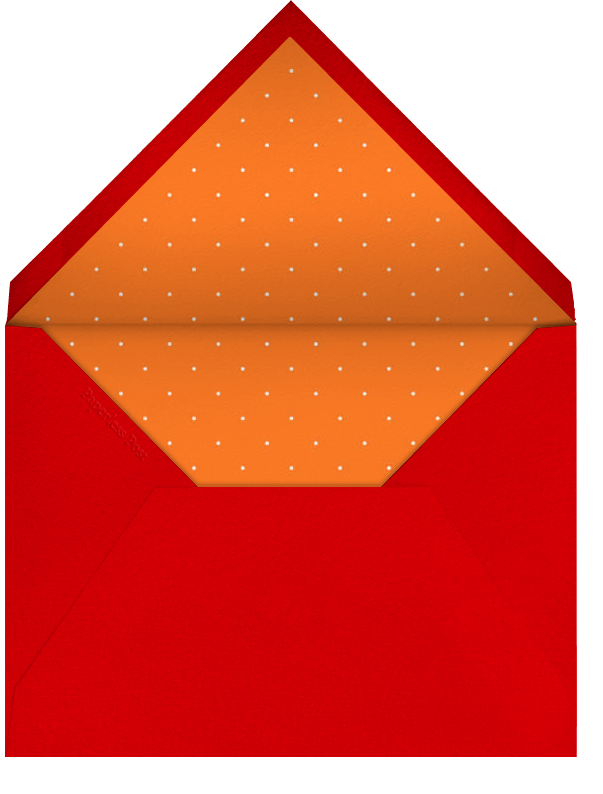 Lucky Clementines - Red - Paperless Post - Lunar New Year - envelope back