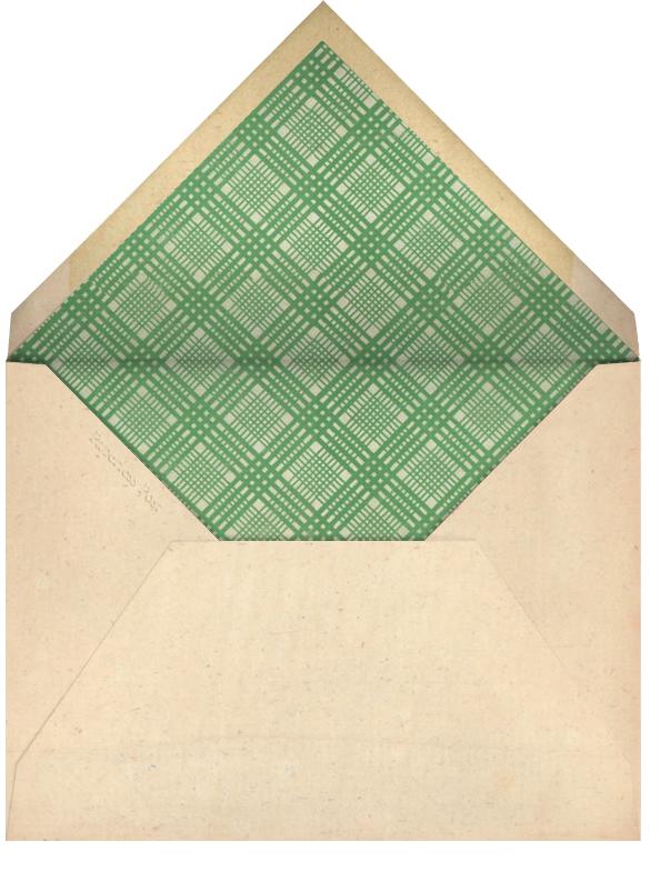 Hellebore Christmas Rose - Horizontal - John Derian - Sympathy - envelope back