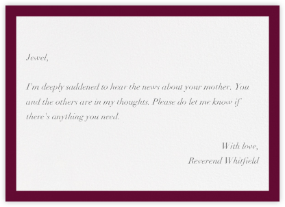Pimlico - Merlot - Paperless Post - Online Greeting Cards
