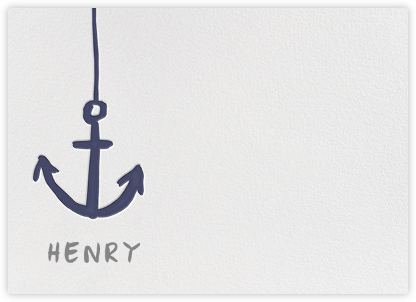 Little Anchor - Iris - Linda and Harriett - Baby and kids' stationery